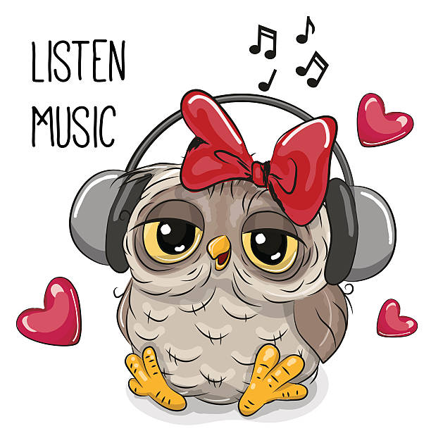 Royalty Free Baby Listening To Music Clip Art, Vector ...