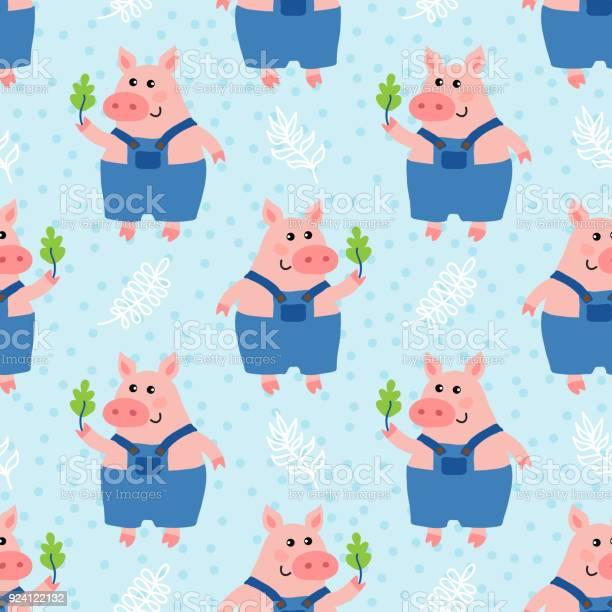 Cute cartoon pig vector id924122132?b=1&k=6&m=924122132&s=612x612&h=ue559wn1jbttlv5diqttcrmvu izqdtgt8do fa7jpo=