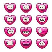 Download Sparkling Pink Heart Emoji Icon Emoji Island - Pink