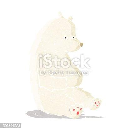 cute cartoon polar bear