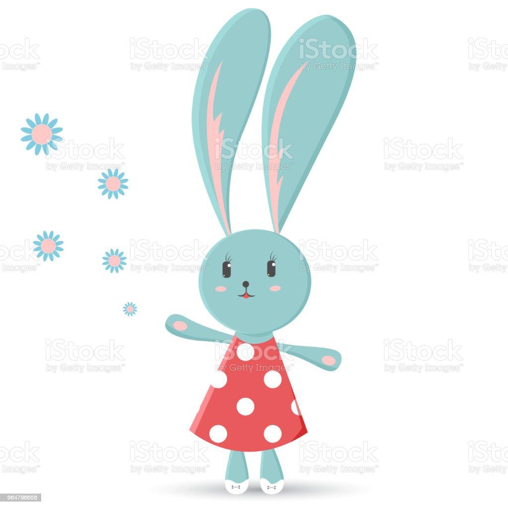 Cute cartoon rabbit girl royalty-free cute cartoon rabbit girl stock vector art & more images of animal
