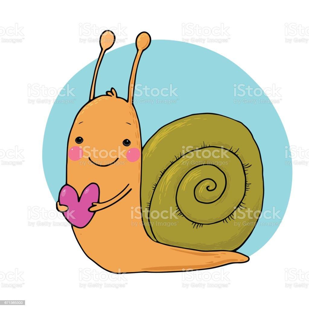 royalty free cute snail clip art vector images illustrations istock rh istockphoto com clipart sailboats clip art sailboat free