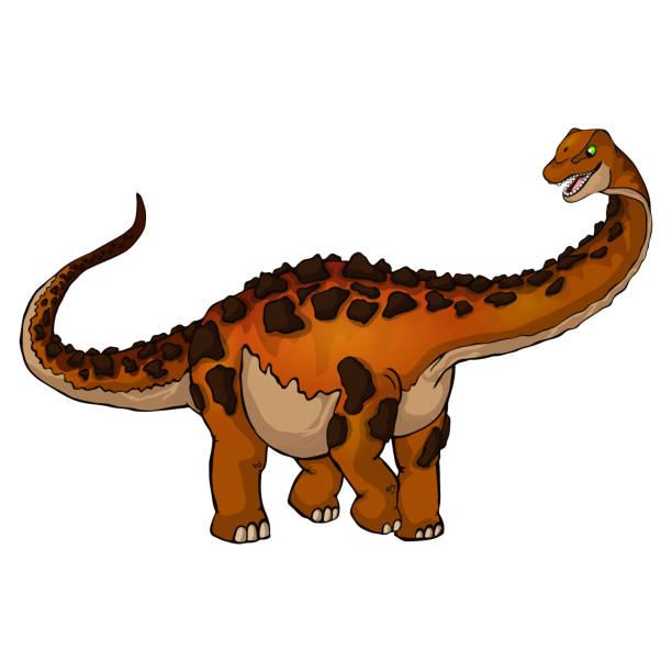 malvorlage dinosaurier stockvektoren und grafiken  istock