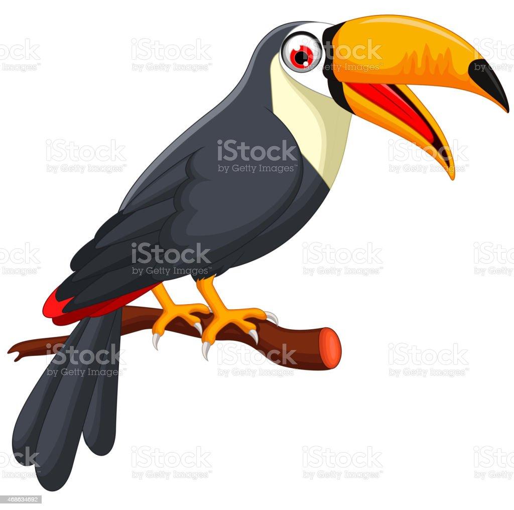 Ilustración de Dibujos Animados De Aves Linda Tucán y más banco de ...