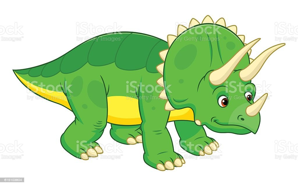 royalty free triceratops clip art vector images
