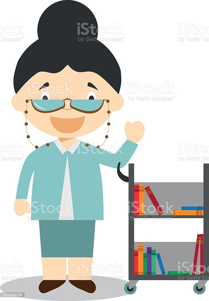 royalty free librarian clip art vector images illustrations istock rh istockphoto com librarian clip art free library clip art images