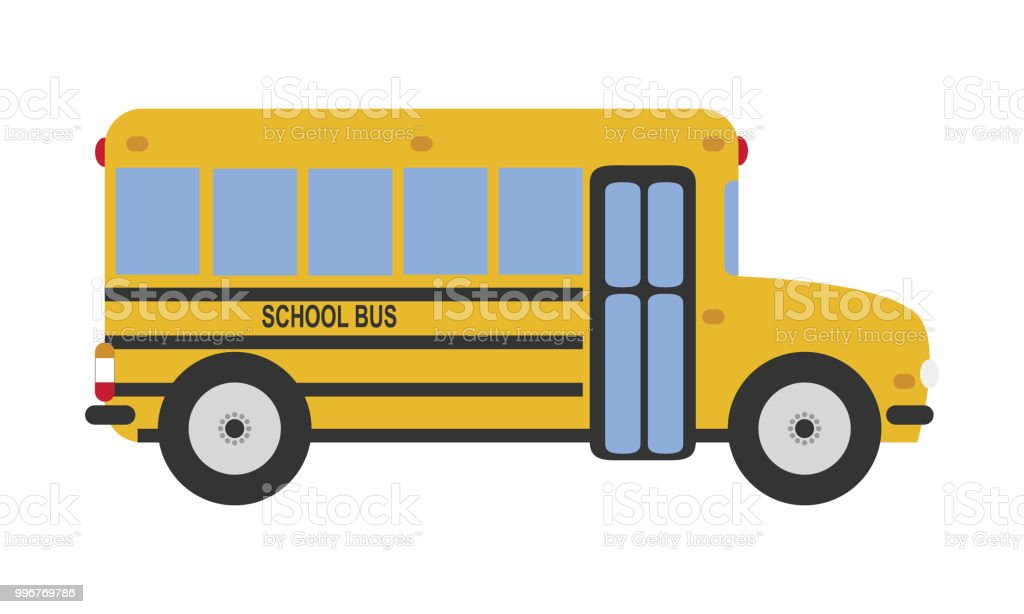 Illustration De Vecteur De Dessin Animé Mignon Dun Autobus