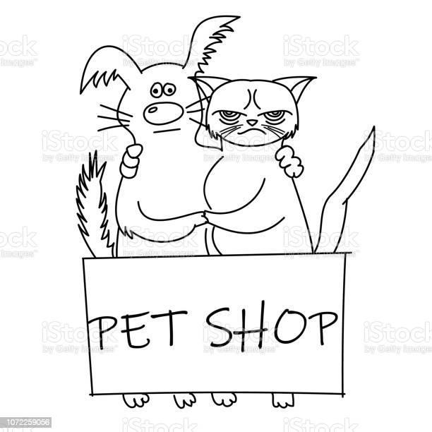 Cute cat and dog best friends vector illustration vector id1072259056?b=1&k=6&m=1072259056&s=612x612&h=xobudi60a8ermkw7c11levgurxwepcj2 7c pswwzpg=