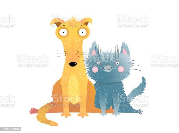 Cute cat and dog flat vector illustration vector id1157028509?b=1&k=6&m=1157028509&s=612x612&h=pmohpycf5wzryos1d83c w0rhw1fb8dyzon9jhhgjwq=