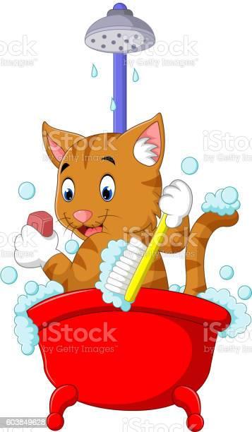 Cute cat bathing time vector id603849628?b=1&k=6&m=603849628&s=612x612&h=8ehs nrbkith9mdomqvqlfd0g4j99pu0r6n1kgptcow=