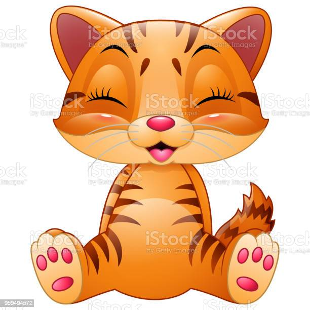 Cute cat cartoon isolated on white background vector id959494572?b=1&k=6&m=959494572&s=612x612&h=lnl85kfuucuqgr7bvps612ceukf9dtyc1zye zliyjm=