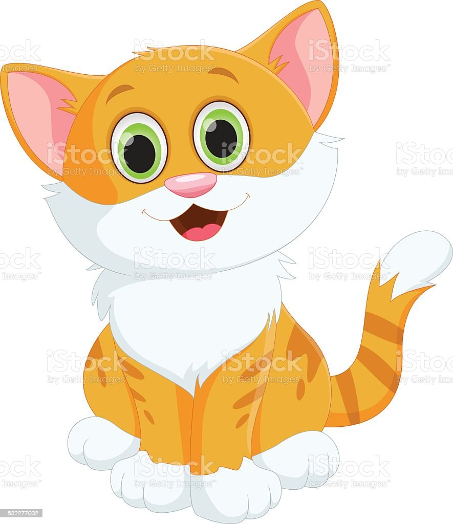 картинки кота мультяшного