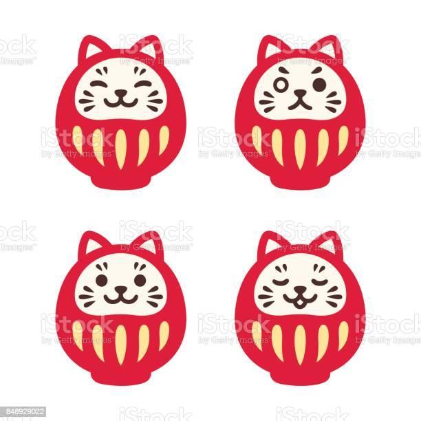 Cute cat daruma doll set vector id848929022?b=1&k=6&m=848929022&s=612x612&h=z6ex2brxzfksj5z7iwzfhl3egqn7ib 8n5wnyw9eme4=