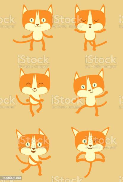 Cute cat editable vector illustration vector id1095006190?b=1&k=6&m=1095006190&s=612x612&h=thunj1flqe6buujpcen4rpu4oycq7aa6qtnpfnh h44=