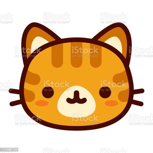 Cute cat face isolated on white background vector id1142857123?b=1&k=6&m=1142857123&s=612x612&h=yaozvdtkicf4falhrpf9ip4m94cdgcf4hvu6k7eq3yo=