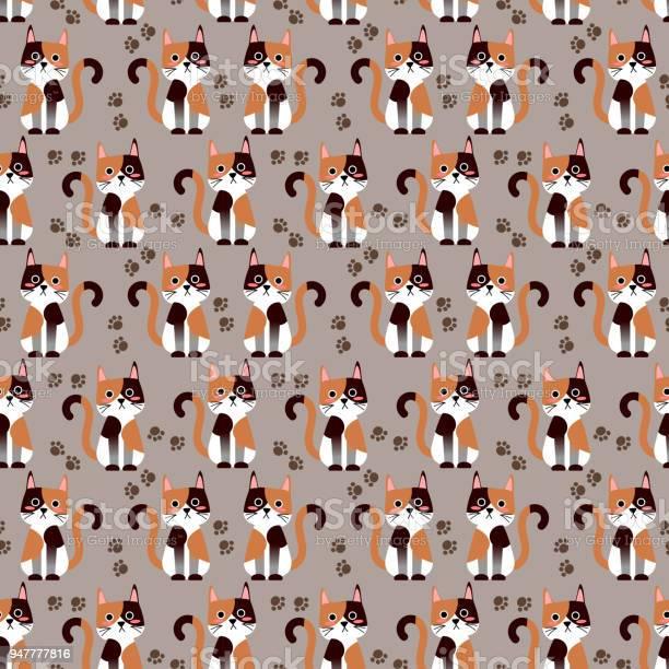 Cute cat face seamless pattern vector vector id947777816?b=1&k=6&m=947777816&s=612x612&h=x6abmpnzalbs8hikbrkazje7akbgyzueiaxvqfcbgow=