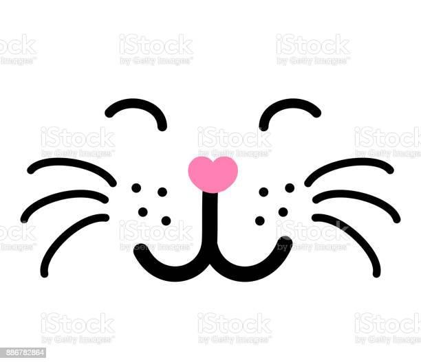 Cute cat face vector illustration vector id886782864?b=1&k=6&m=886782864&s=612x612&h=hbwdjxqdrgpqmpoi5 qi52e7xazfsn7dwjqb96mxpge=