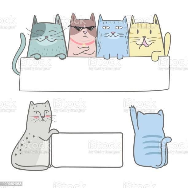 Cute cat holding a blank sign vector id1029804968?b=1&k=6&m=1029804968&s=612x612&h=pwm9xmzdnxvg g7r08eqoqfhqa0cf8if7xxxaju9vxg=