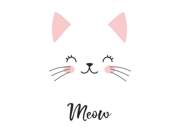 niedliche katze illustrationen - hundebetten stock-grafiken, -clipart, -cartoons und -symbole