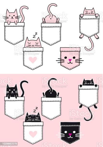 Cute cat in a pocket vector set vector id1009662078?b=1&k=6&m=1009662078&s=612x612&h=sqawmhumbxzyyadxpinqiccrnhgxjbop4a4x7rbrsui=