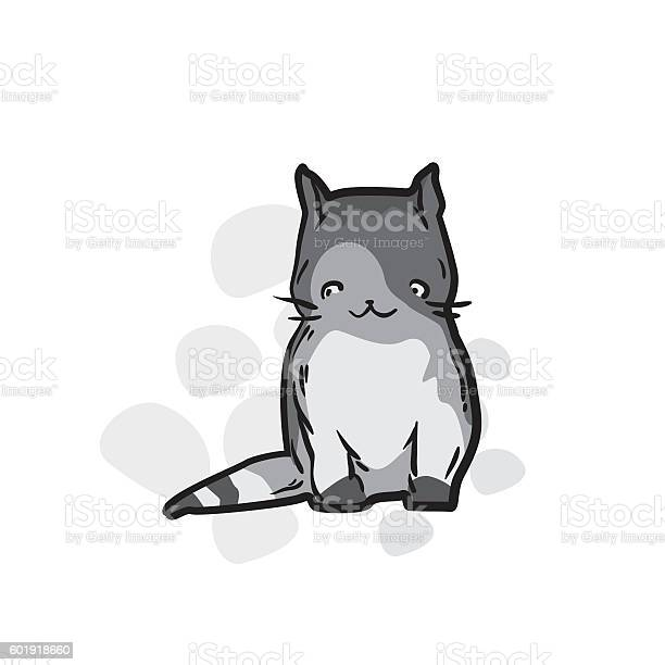 Cute cat in funny cartoon style vector id601918660?b=1&k=6&m=601918660&s=612x612&h=9jgz3f2o0aacnmcnnhlpwkihjqvjh2rwe aguw5xvjw=