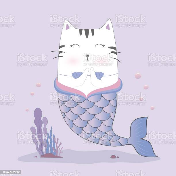Cute cat mermaid vector id1047562248?b=1&k=6&m=1047562248&s=612x612&h=cu  3dtsdnhvjh6oazjrgv3gwrttekeucdyygybslvo=