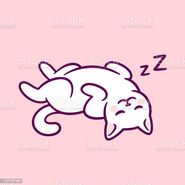 Cute cat sleeping belly up vector id1157797407?b=1&k=6&m=1157797407&s=612x612&h=8mayyltgsnr54tc7x5uq6zjnbadlpdoy3dfkx11jowk=