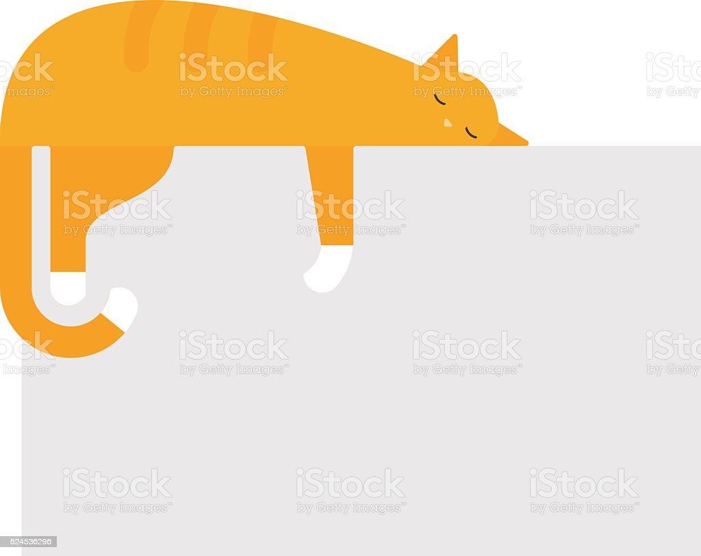 かわいい猫のプラットフォームベッドの上の可愛い家フェリネ国内若い