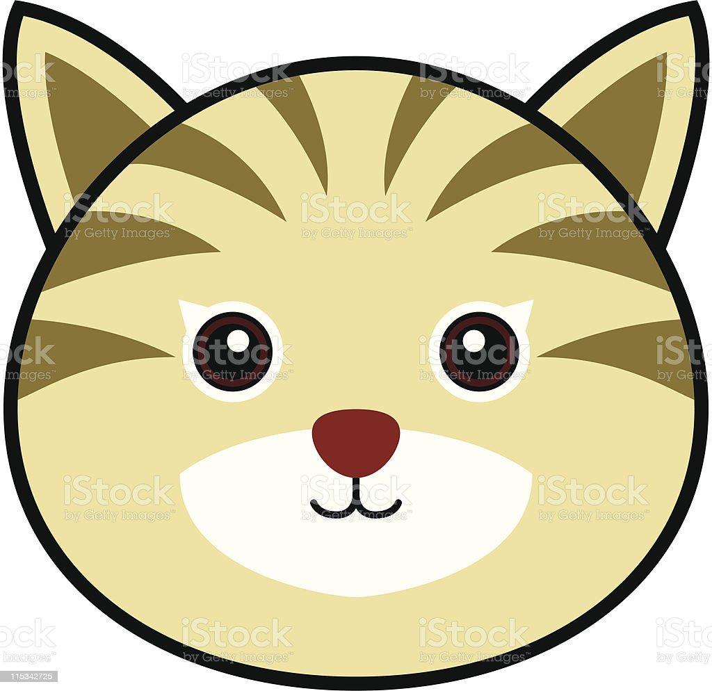 Cute Cat Vector vector art illustration