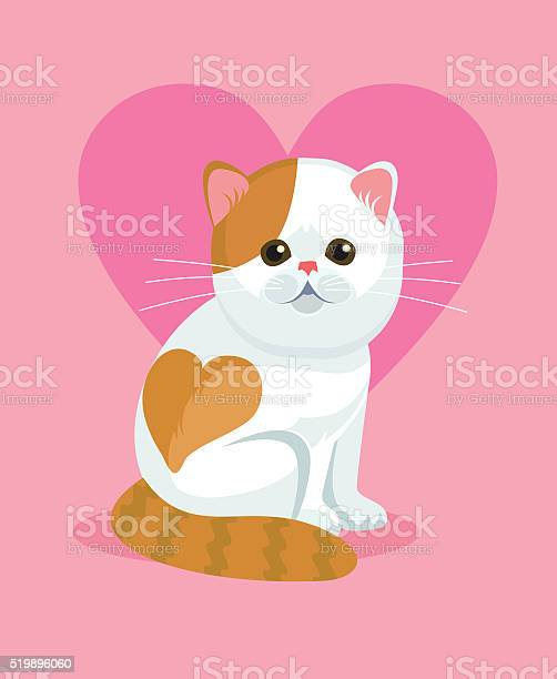 Cute cat with flat nose and heart on back vector id519896060?b=1&k=6&m=519896060&s=612x612&h=dcmpasy q6sfqhgh nzfskuzj2quitpdhldjd2q8wy4=