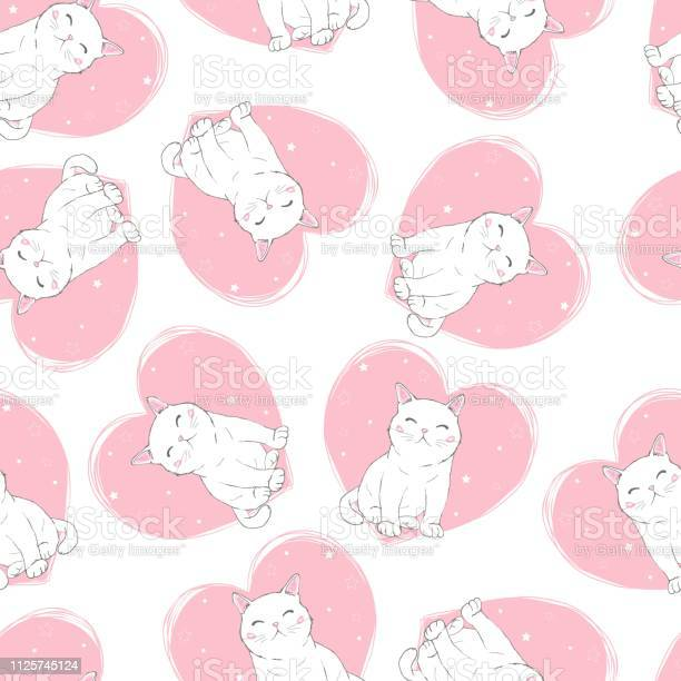 Cute cats pet seamless icons pattern and background vector id1125745124?b=1&k=6&m=1125745124&s=612x612&h=jinzmzlrzwkgxyqkpoagym4fzahv mg2l9bpbor2t s=