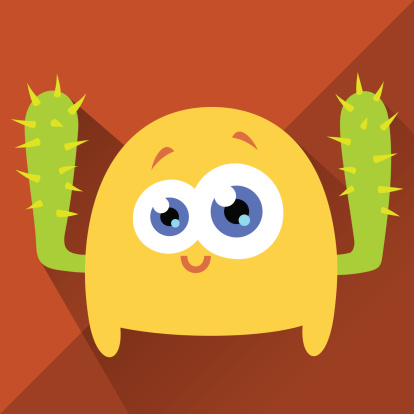 Cute Character - Cactushand
