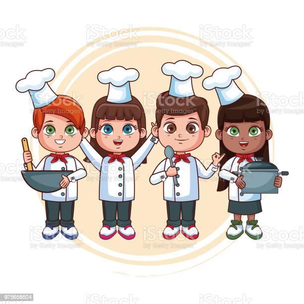 Cute chef kids cartoons vector id975658524?b=1&k=6&m=975658524&s=612x612&h=c0hwllgsceahfu9u7diznyw1tqnug24sbpwin8ubksq=