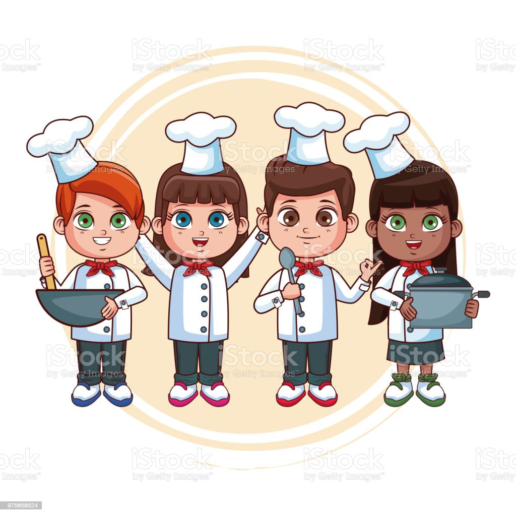 royalty free baby chef hat clip art vector images