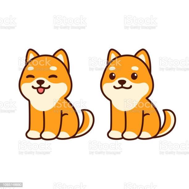 Cute chiba inu puppy vector id1093748880?b=1&k=6&m=1093748880&s=612x612&h=d67kt0ipminkfq0s7tqhikt80 zrurstjmium8hkvn8=