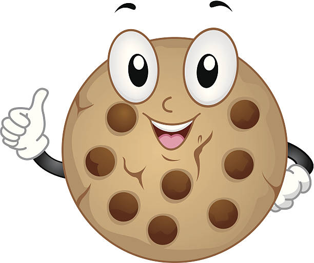 Royalty Free Chocolate Chip Clip Art, Vector Images ...