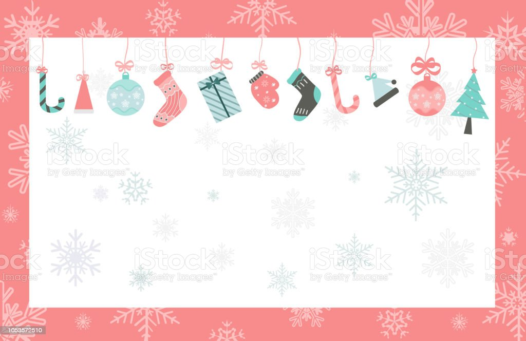 Christmas Backgrounds Cute.Cute Christmas Background Stock Illustration Download