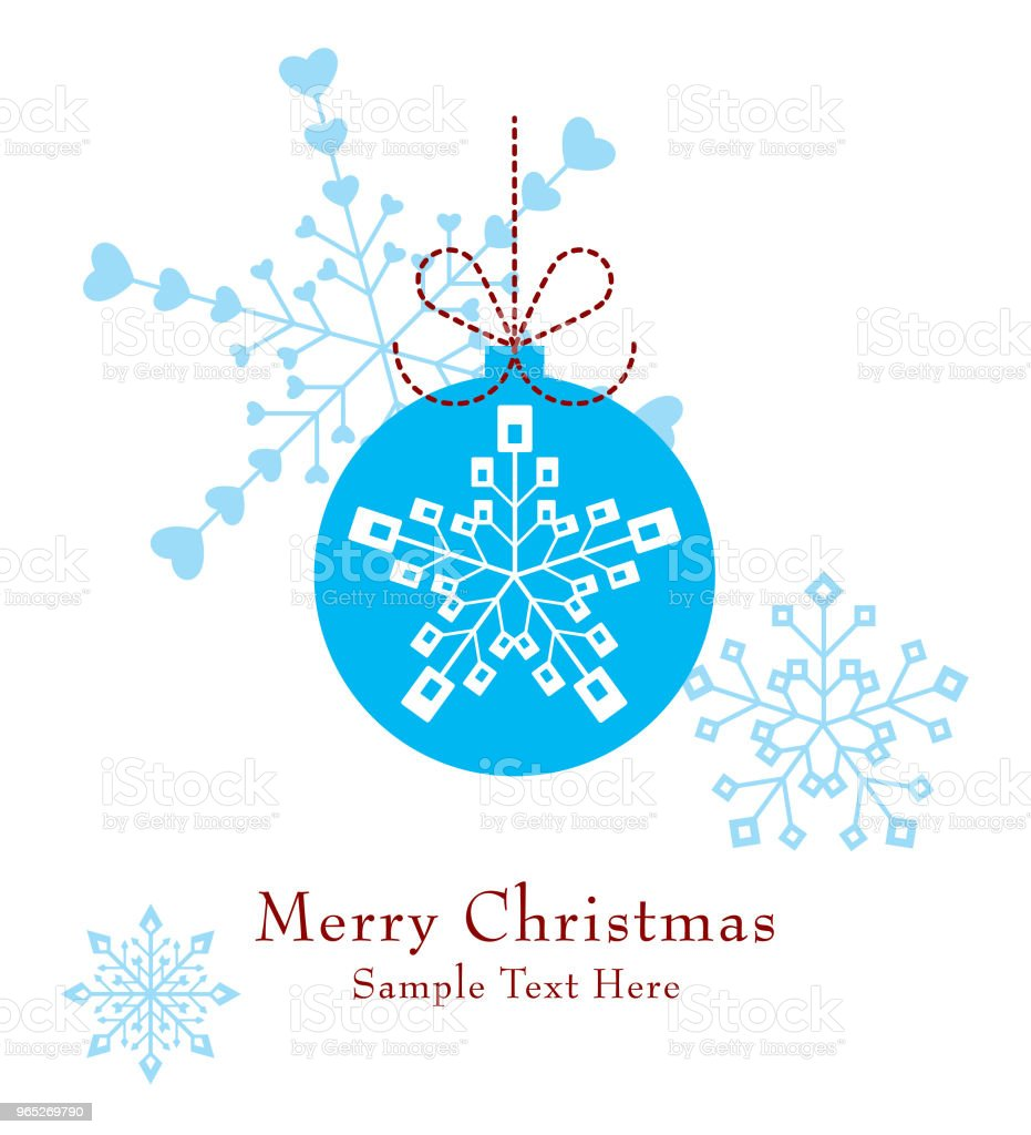 cute christmas ball ornament greeting card vector cute christmas ball ornament greeting card vector - stockowe grafiki wektorowe i więcej obrazów bazgroły - rysunek royalty-free