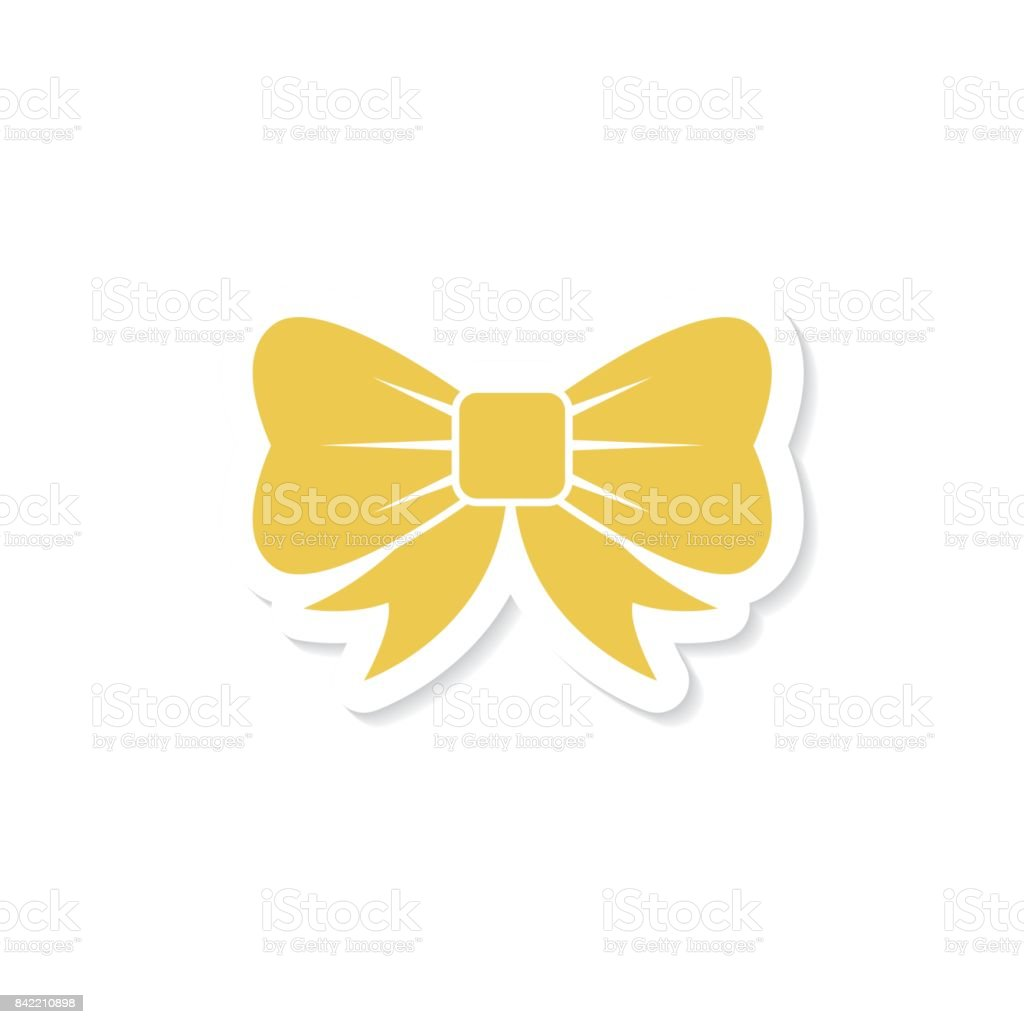 Cute Christmas Icons Stickers vector art illustration