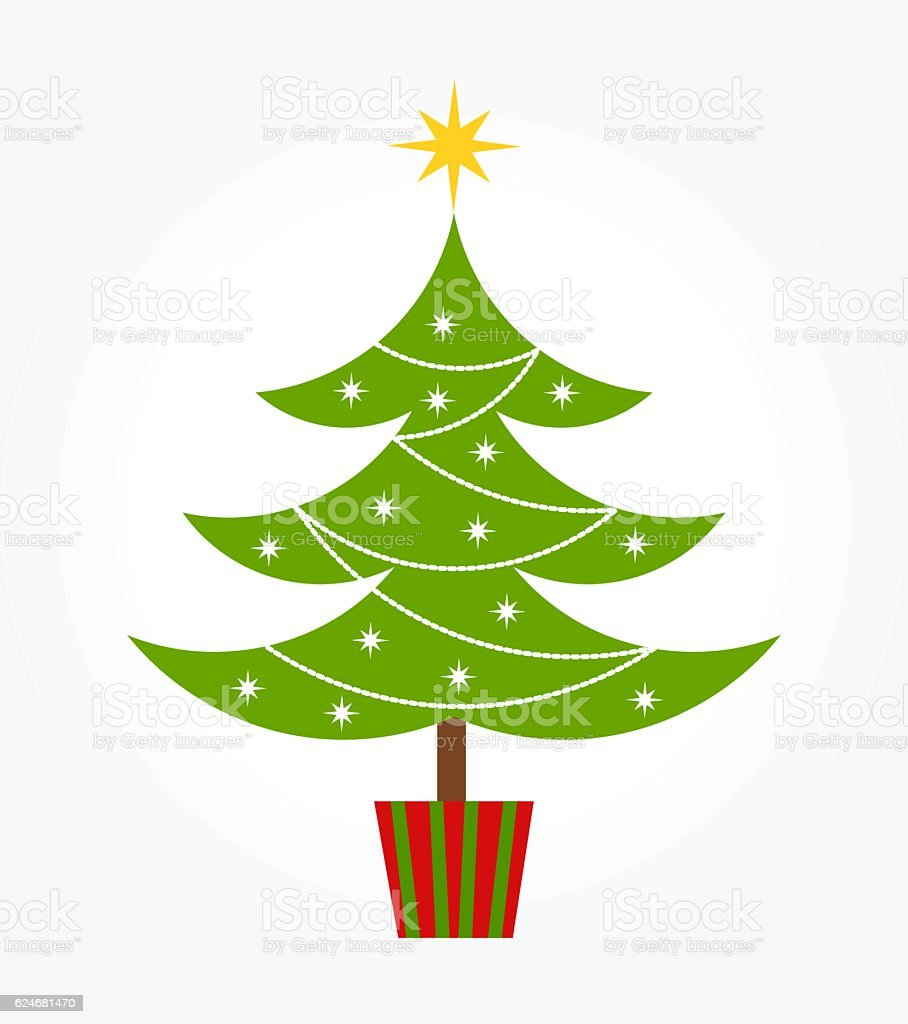 cute christmas tree royalty free cute christmas tree stock vector art more images