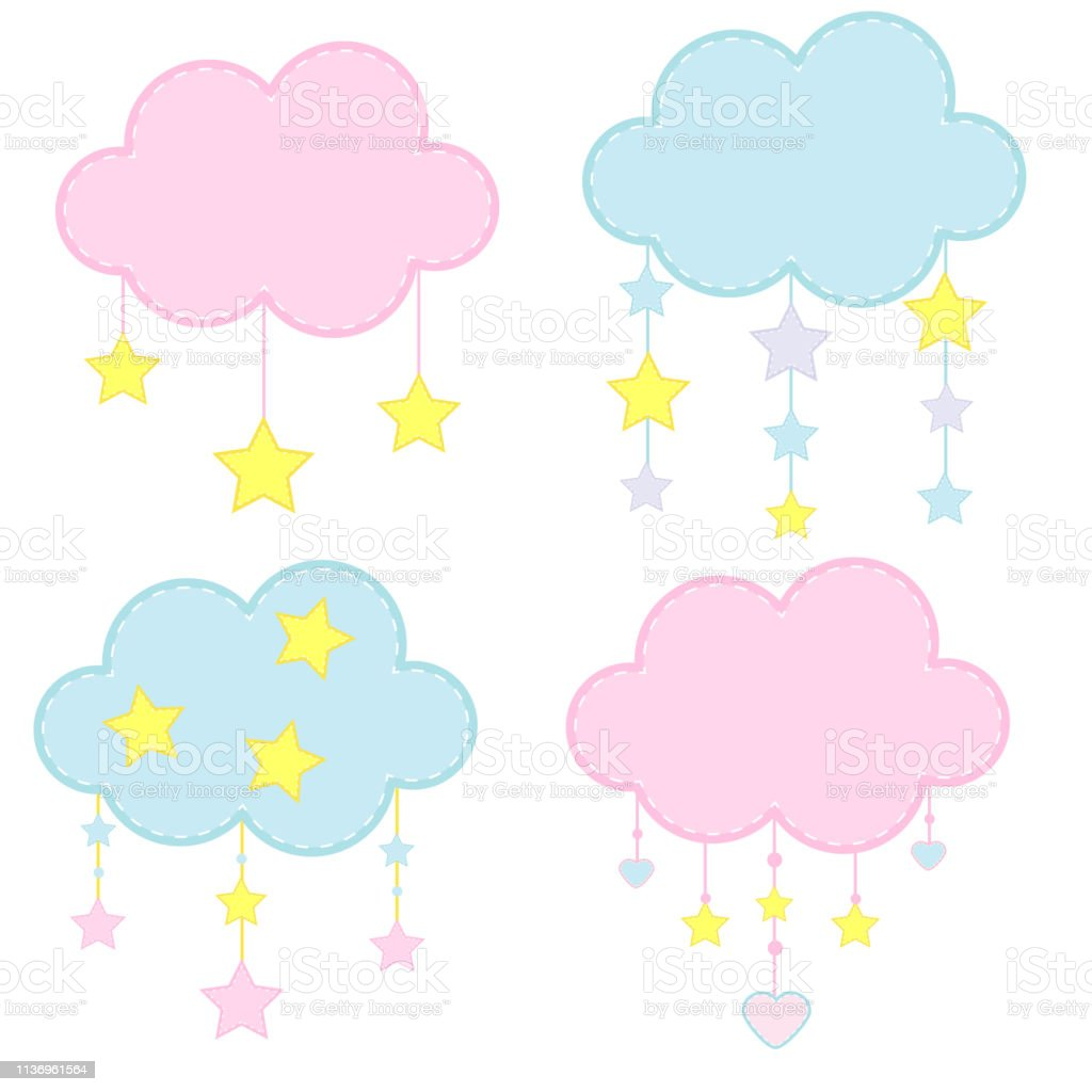 Decoracion De Nubes Para Baby Shower.Cute Clouds For Kids Baby Shower Clouds Decorated With
