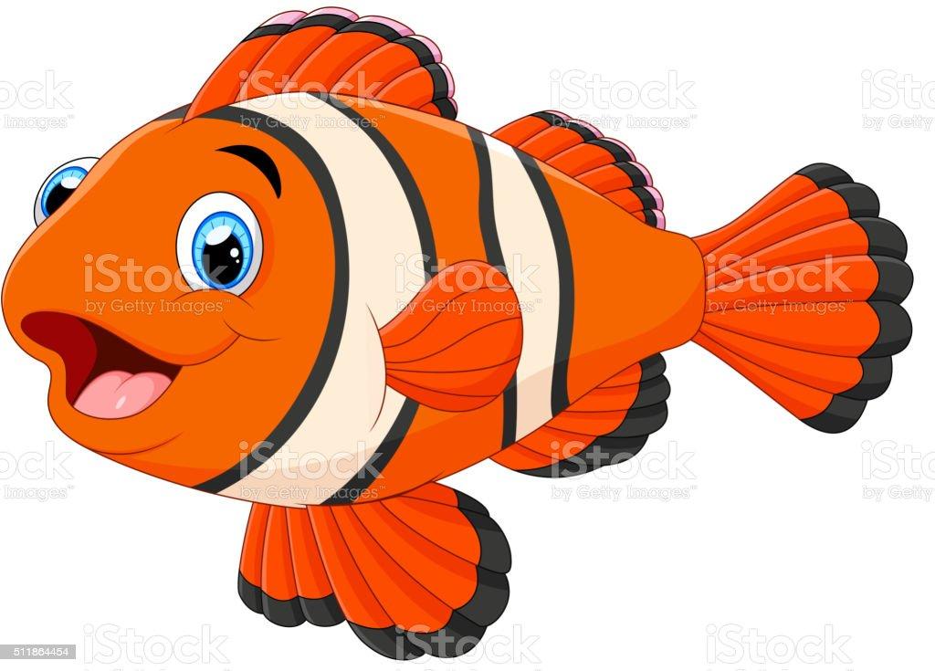 Cute Clown Fish Cartoon Stock Vector Art & More Images of ...