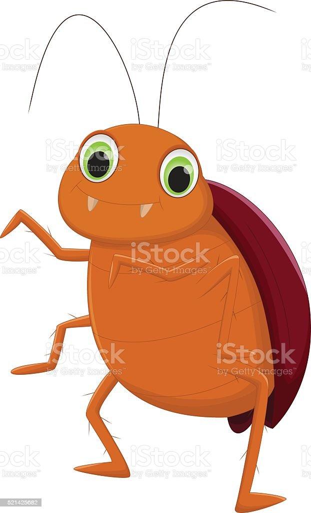 ゴキブリ漫画かわいい イラストレーションのベクターアート素材や画像
