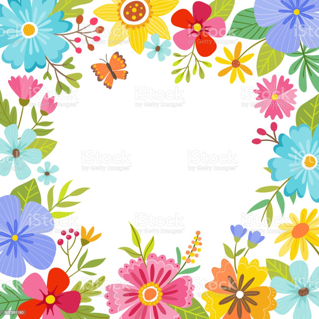 Cute colorful spring floral background stock vector art more cute colorful spring floral background royalty free cute colorful spring floral background stock vector mightylinksfo Images