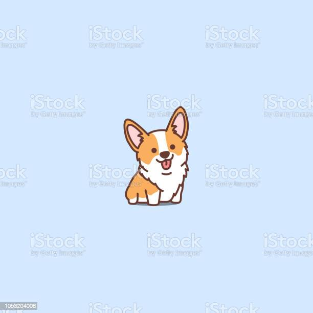 Cute corgi puppy cartoon icon vector illustration vector id1053204008?b=1&k=6&m=1053204008&s=612x612&h=fmezbeqaxaibweulcawtzbc61lc p9r7meqzsecnrfq=