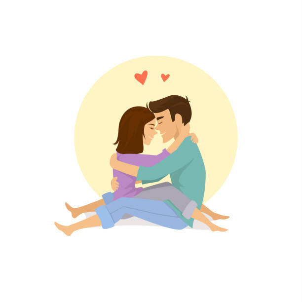 Love Each Other Clip Art: Top Sitting Floor Clip Art, Vector Graphics And