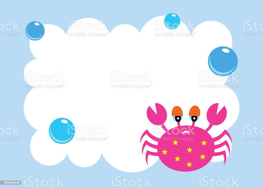 Cute Crab Baby Shower Greeting Card Stock Vector Art More Images