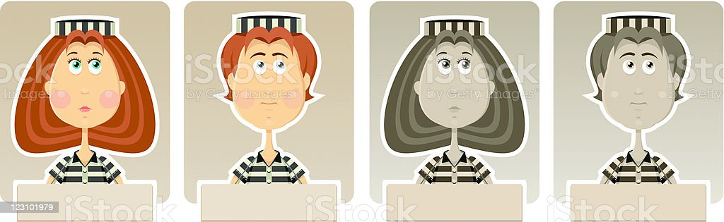 Cute criminals royalty-free cute criminals stock vector art & more images of adult
