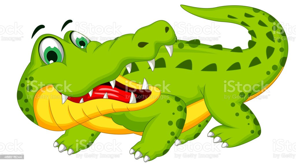 Cute Crocodile Cartoon Posing Stock Vector Art & More ... - photo#22