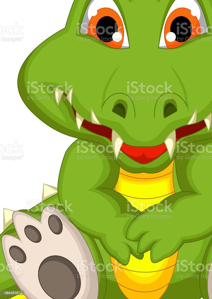 S ance de dessin anim mignon crocodile vecteurs libres de droits et plus d 39 images de - Dessin anime crocodile ...